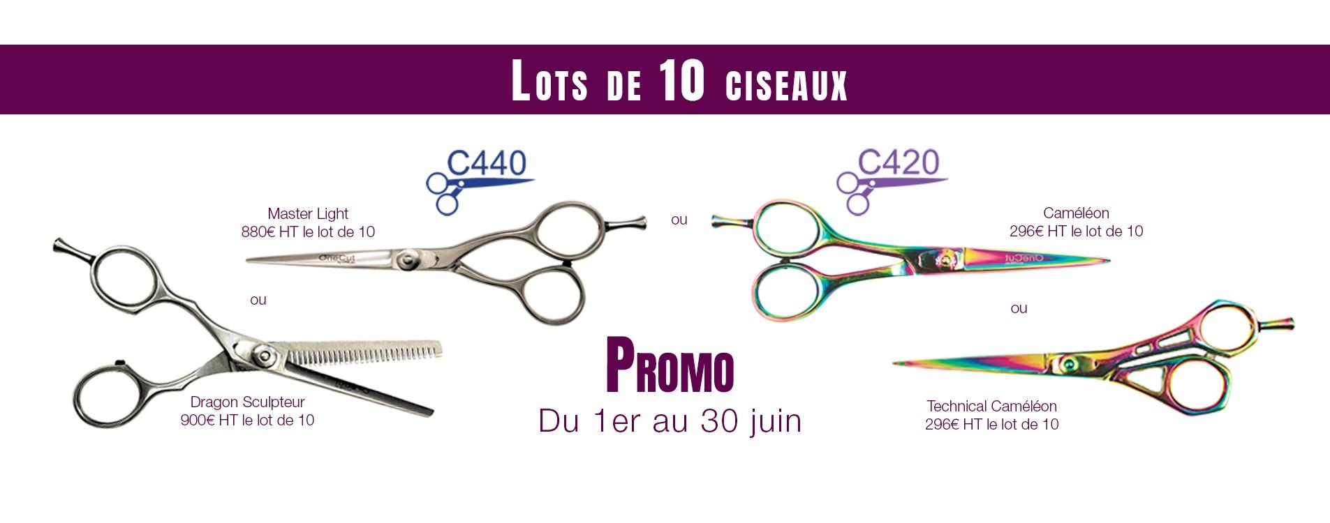 OneLac promotion ciseaux coiffeur